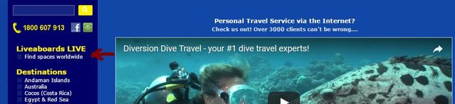 © copyright by Diversion Dive Travel
