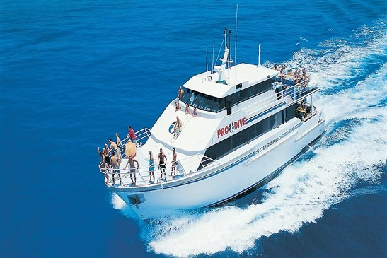 Pro dive cairns liveaboard the scubapro liveaboards - Pro dive cairns ...