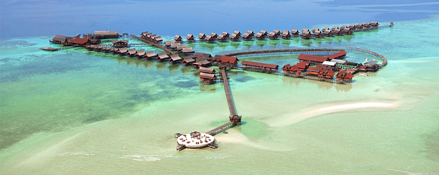 Wts kapalai water village package - Kapalai dive resort price ...