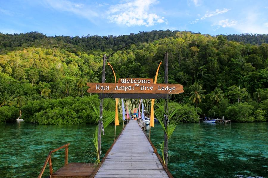 Raja Ampat Dive Lodge At Yenpapir Beach Mansuar Island
